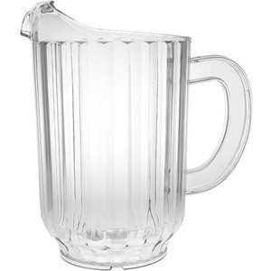 Pichet A Eau En Polycarbonate, Transparent, 1.75 L / 60 Oz