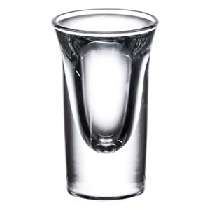 "Verre, ""Shooter Whisky"", 3/4 Oz, Grand Format"