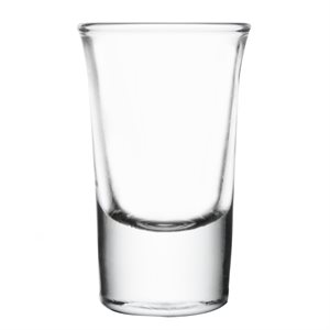 "Verre, ""Shooter Whisky"", 1 Oz"