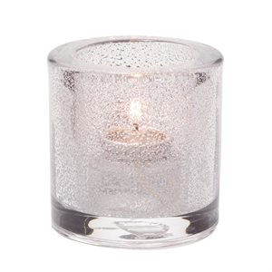 TeaLight Lamp, Thick Glass, Clear