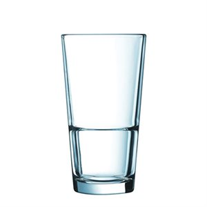 Glass, Stack Up, Hi-Ball, Tempered, 10 Oz