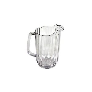 Pichet D'eau, En Polycarbonate, Transparent, 48 Oz