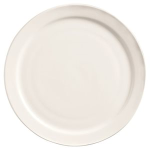 "Assiette De Pain Ovale, 6.5 Po, 3Dz/Cs, ""Porcelana"""