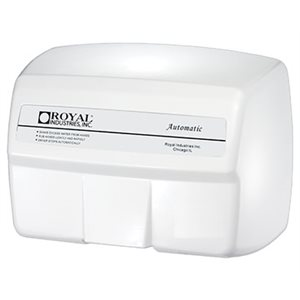 "Hand Dryer, Automatic, White, ""Royal"""